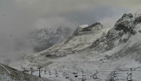Zürs, Austria – Weather to ski – Today in the Alps, 3 November 2016