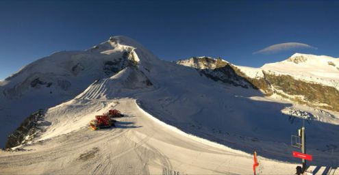 Saas-Fee, Switzerland – Weather to ski – Today in the Alps, 4 November 2016