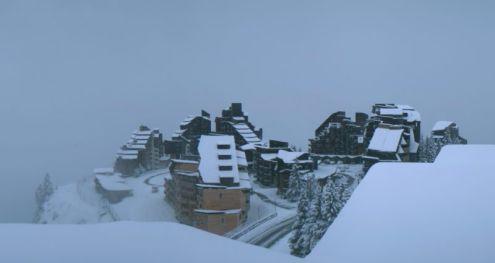 Avoriaz, France – Weather to ski – Today in the Alps, 6 November 2016