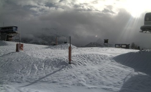Sestriere, Italy – Weather to ski – Today in the Alps, 6 November 2016