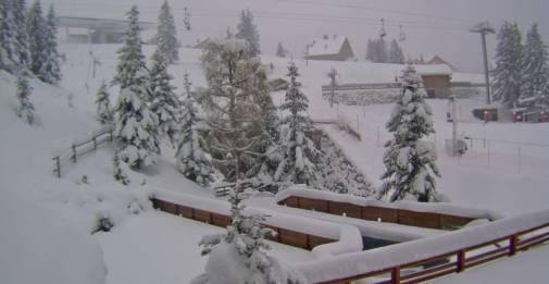 Méribel, France – Weather to ski – Today in the Alps, 11 November 2016