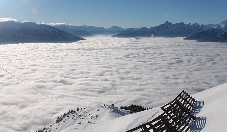 Innsbruck, Austria – Weather to ski – Today in the Alps, 14 November 2016