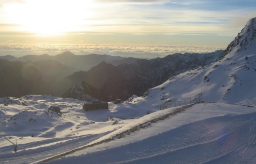 Gressoney, Italy – Weather to ski – Today in the Alps, 17 November 2016