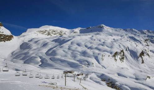 Val d'Isère, France – Weather to ski – Today in the Alps, 30 November 2016