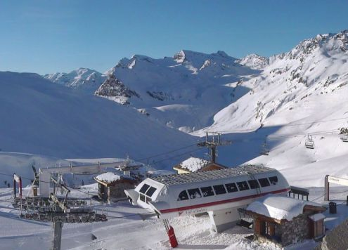 Val d'Isère, France – Weather to ski – Today in the Alps, 2 December 2016