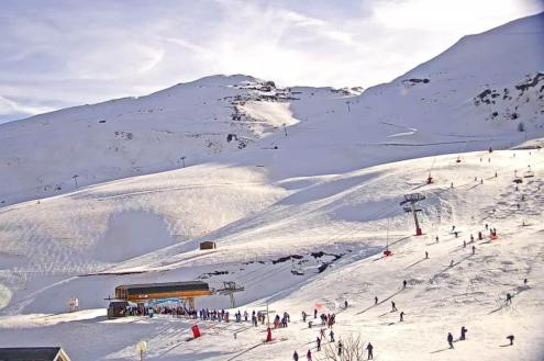 Cauterets, France – Weather to ski – Snow report, 27 December 2016