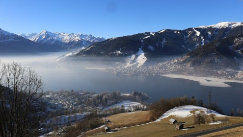 Zell-am-See, Austria – Weather to ski – Today in the Alps, 1 January 2017
