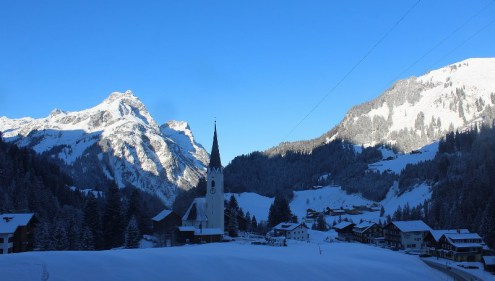Schröcken, Austria – Weather to ski – Today in the Alps, 3 January 2017