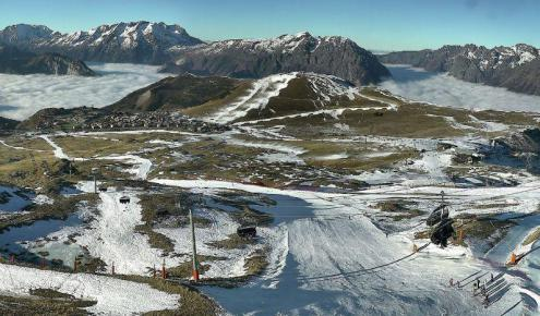 Alpe d'Huez, France – Weather to ski – Today in the Alps, 3 January 2017