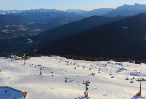 Kronplatz, Italy – Weather to ski – Today in the Alps, 7 January 2017
