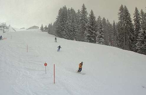 Damüls, Austria – Weather to ski – Today in the Alps, 8 January 2017
