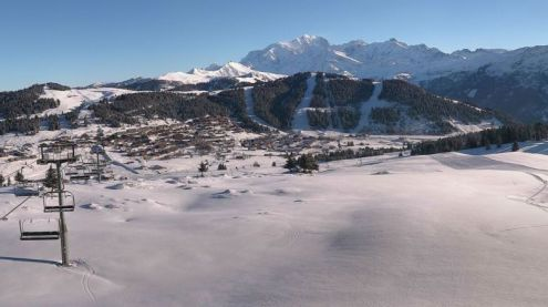 Les Saisies, France – Weather to ski – Today in the Alps, 11 January 2017