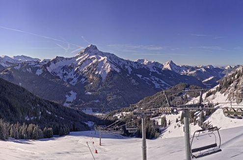 La Chapelle d'Abondance, France – Weather to ski – Today in the Alps, 11 January 2017