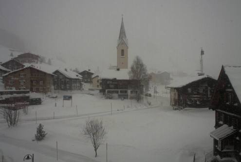 Warth-am-Arlberg, Austria – Weather to ski – Today in the Alps, 13 January 2017
