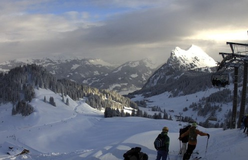 Mellau, Austria – Weather to ski – Today in the Alps, 15 January 2017