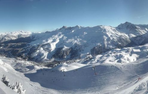 Méribel, France – Weather to ski – Today in the Alps, 15 January 2017