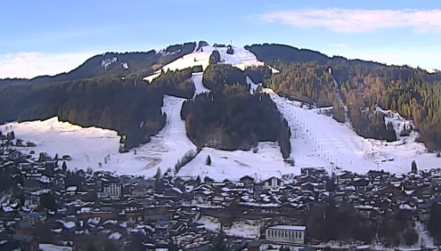 Morzine, France – Weather to ski – Today in the Alps, 1 February 2017