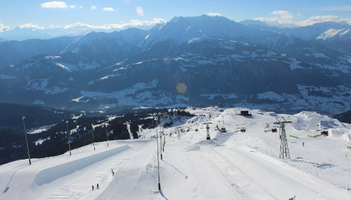 Laax, Switzerland – Weather to ski – Today in the Alps, 11 February 2017