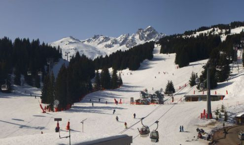 Courchevel, France – Weather to ski – Today in the Alps, 13 March 2017