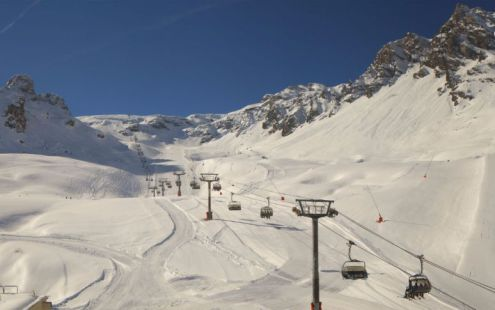 Tignes, France – Weather to ski – Today in the Alps, 27 March 2017