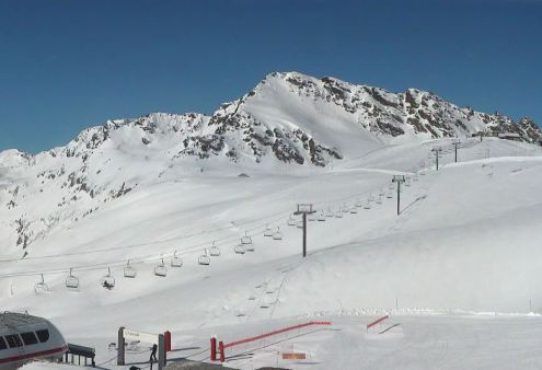 Val d'Isère, France – Weather to ski – Today in the Alps, 29 March 2017