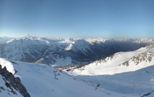Montgenèvre, France – Weather to ski – Today in the Alps, 4 April 2017