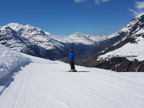Bonneval-sur-Arc, France – Weather to ski – Today in the Alps, 14 April 2017