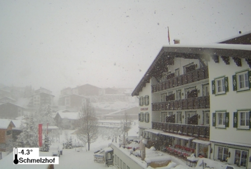 Lech, Austria – Weather to ski – Today in the Alps, 18 April 2017