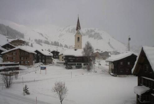 Warth-am-Arlberg, Austria – Weather to ski – Today in the Alps, 19 April 2017