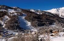 Serre Chevalier ski area, France