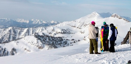 Jackson Hole ski area, USA - Photo: Jackson Hole/Niall Bouzon