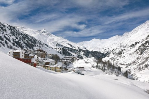 Obergurgl, Austria, best late season ski resorts Austria