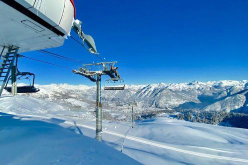 Great snow conditions in Risoul, France, 3 December 2019 – Weather to ski – Snow report, 3 December 2019