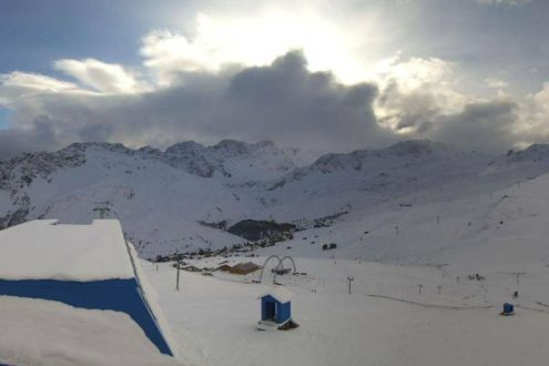 Good snow cover in Arosa, Switzerland, on 11 November 2019 – Weather to ski – Snow report 11 November 2019