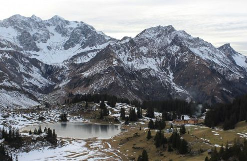 Much of the snow has melted in Warth-Schröcken, Austria, 26 November 2019 – Weather to ski – Snow report, 26 November 2019