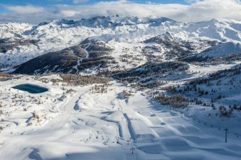 Good conditions in Vars, France, 26 November 2019 – Weather to ski – Snow report, 26 November 2019