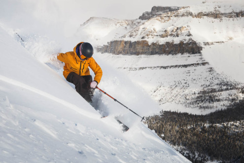 New snow in Lake Louise, Canada, 26 November 2019 – Weather to ski – Snow report, 26 November 2019