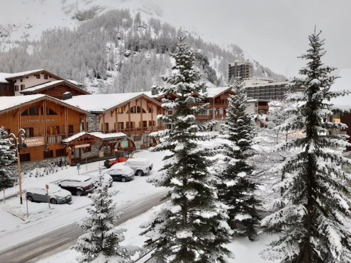 Lots of snow in Val d'Isère, France, 28 November 2019 – Weather to ski – Snow report, 28 November 2019