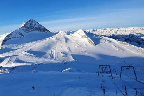 Hintertux glacier, Austria – Weather to ski – Snow report, 12 December 2019