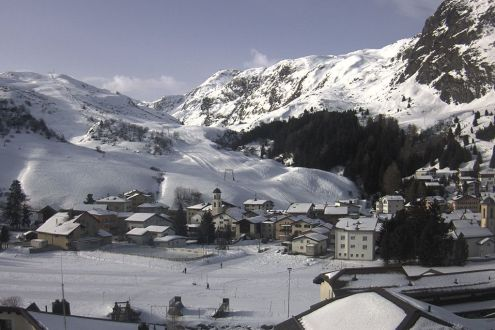 Bivio, Switzerland – Weather to ski – Snow report, 24 January 2020