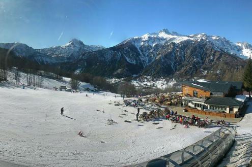 Prali, Italy – Weather to ski – Snow report, 12 January 2017