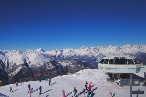 Graechen, Switzerland – Weather to ski – Snow report, – 7 February 2020
