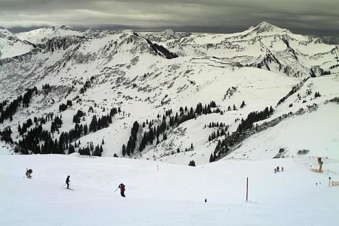 Mellau, Austria – Weather to ski – Snow report, 21 February 2020