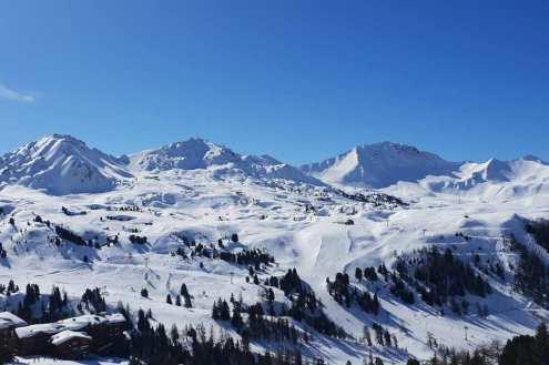 La Plagne, France – Weather to ski – Snow report, 21 February 2020
