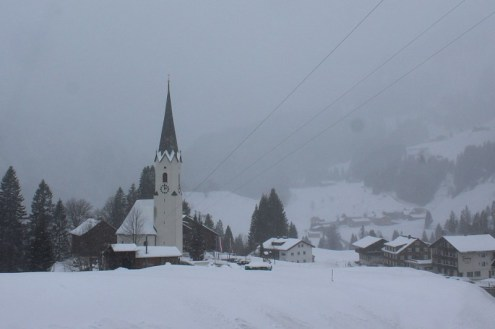 Warth-Schröcken, Austria – Weather to ski – Today in the Alps, 27 February 2020