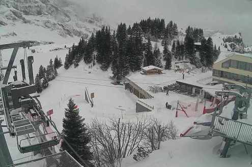Champéry, Switzerland – Weather to ski – Snow report, 20 November 2017