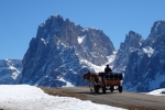 Ortisei, Val Gardena, Italy - Piste perfection in the Dolomites