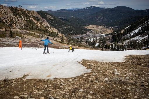 Squaw Valley, California - March 2015