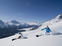 St Moritz ski area, Switzerland - Photo: Engadin St Moritz/Christof Sonderegger