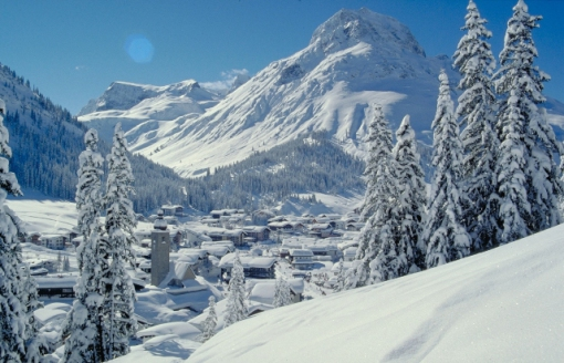 Lech / Zürs ski area, Austria - Photo: Lech / Zürs Tourismus